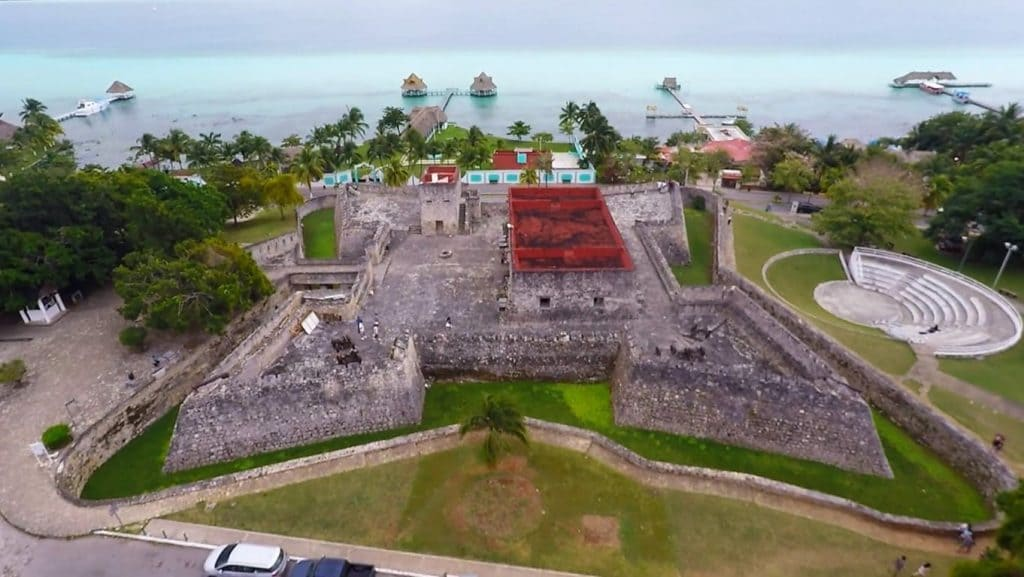 Photo of the old San Felipe Fort