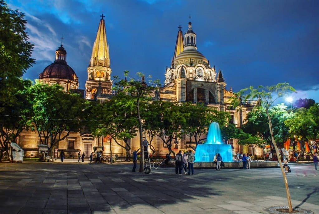 Famous and amazing Guadalajara Cathedral