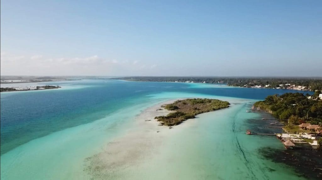 Blue water Bacalar