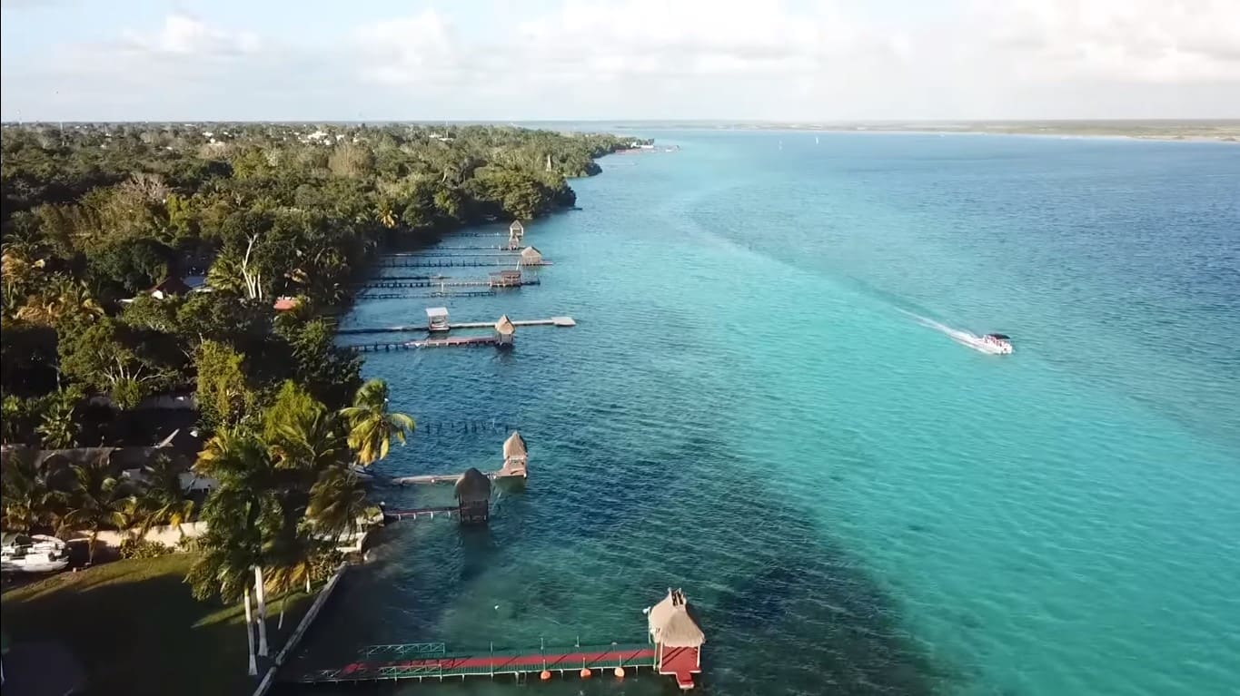 Cancun To Guatemala City In 3 weeks | Travel Nation |Lake Bacalar Mexico