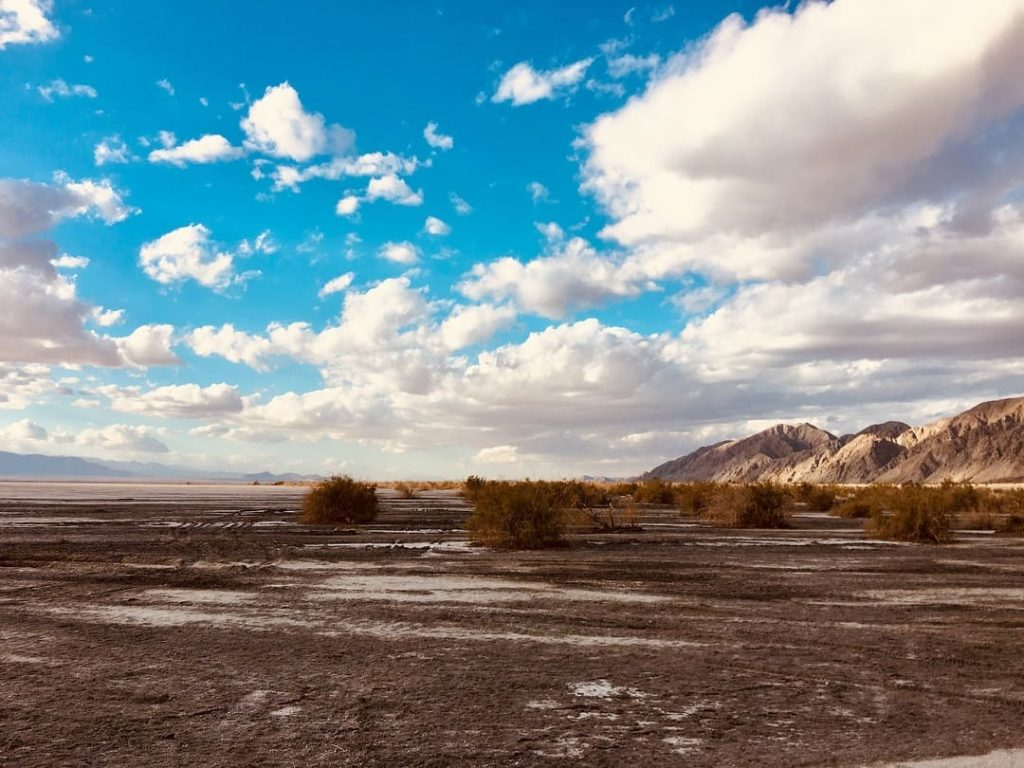 Laguna Salada - Salt Lake in Mexicali