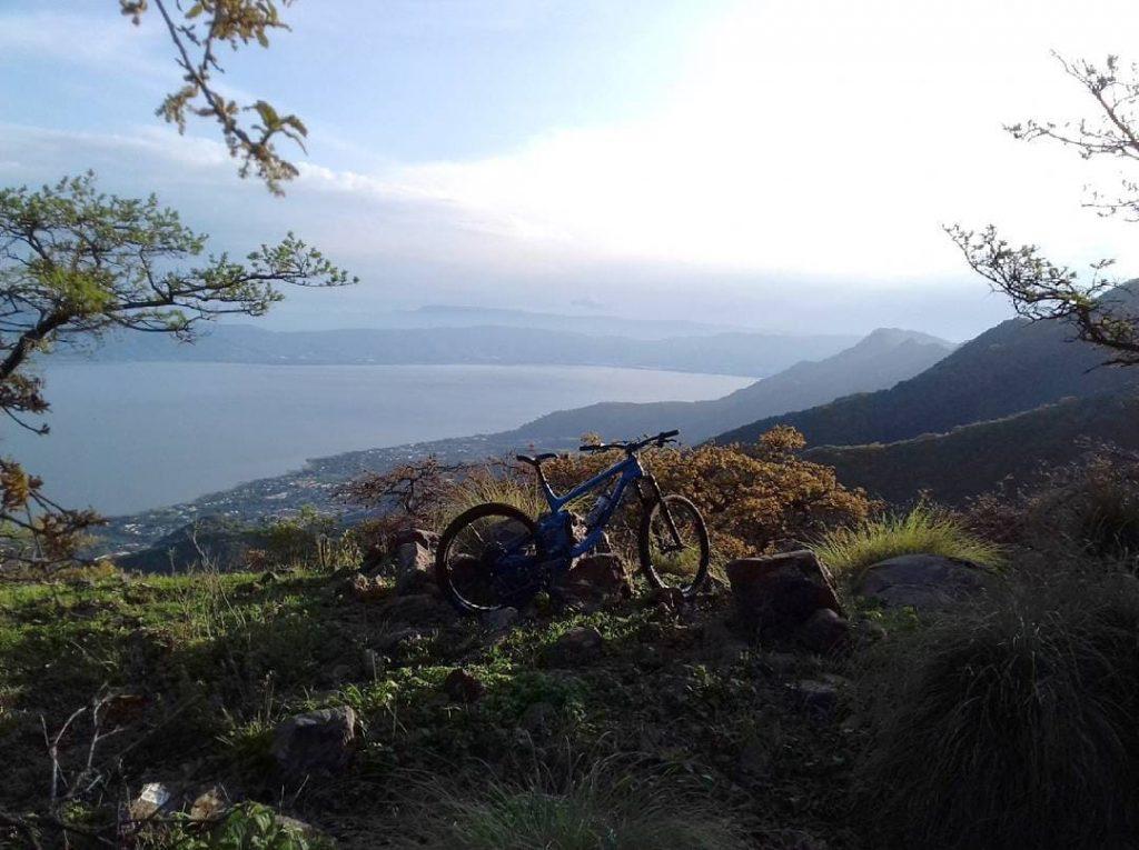 Mountain bike in the Sierra de San Juan Cosala National Park